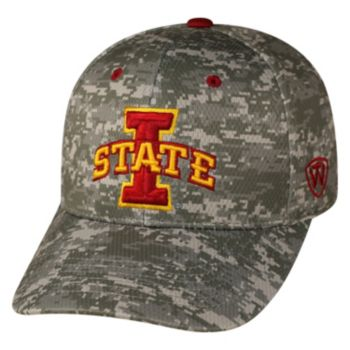Adult Top of the World Iowa State Cyclones Digital Camo One-Fit Cap