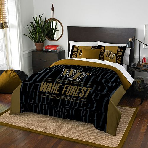 Wake Forest Demon Deacons Modern Take Full/Queen Comforter Set by Northwest