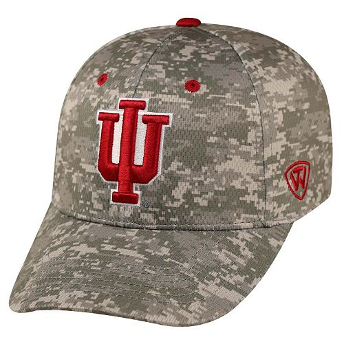 Adult Top of the World Indiana Hoosiers Digital Camo One-Fit Cap