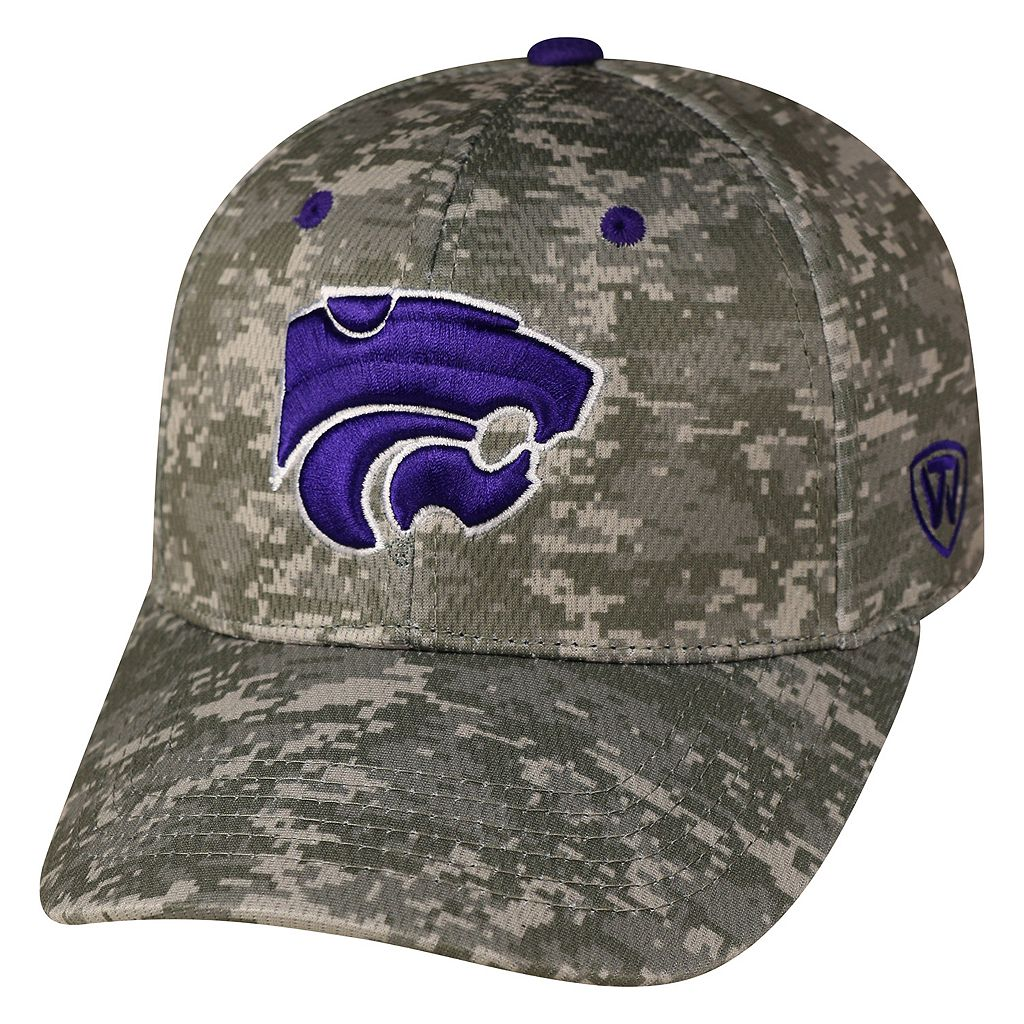 Adult Top of the World Kansas State Wildcats Digital Camo One-Fit Cap