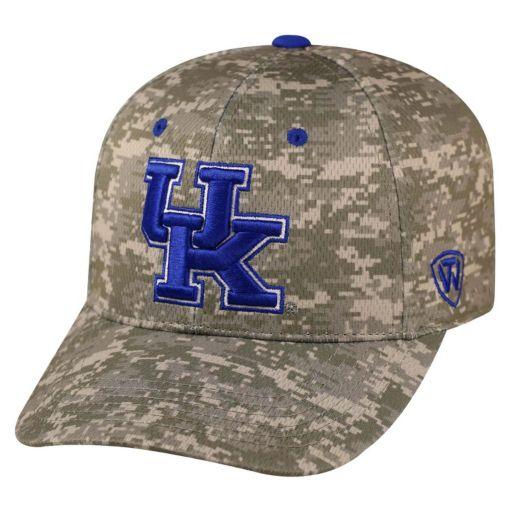 Adult Top of the World Kentucky Wildcats Digital Camo One-Fit Cap