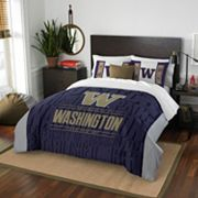 Washington Huskies Modern Take Full/Queen Comforter Set by Northwest