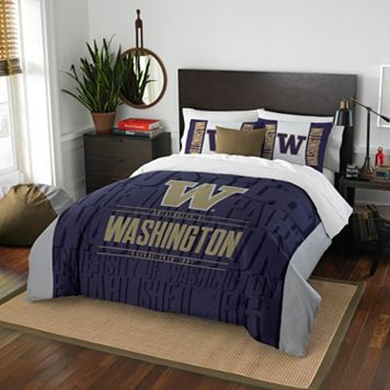Washington Huskies Modern Take Full/Queen Comforter Set by Northwest