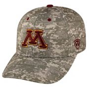 Adult Top of the World Minnesota Golden Gophers Digital Camo One-Fit Cap