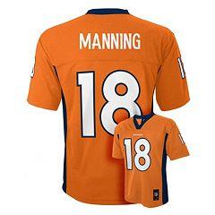 Boys 8-20 Denver Broncos Peyton Manning NFL Replica Jersey