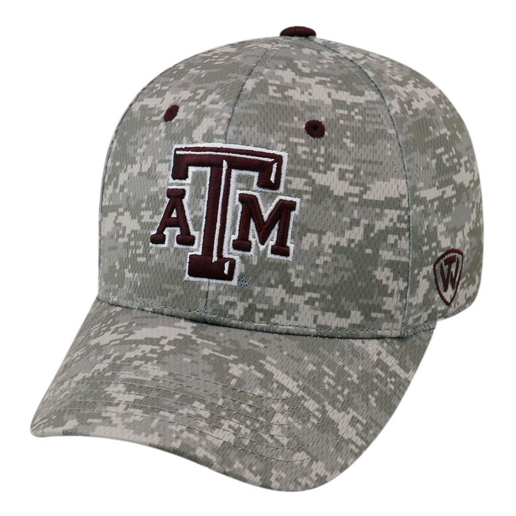 Adult Top of the World Texas A&M Aggies Digital Camo One-Fit Cap