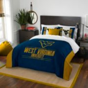 West Virginia Mountaineers Modern Take Full/Queen Comforter Set by Northwest