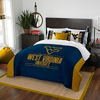 West Virginia Mountaineers Modern Take Full/Queen Comforter Set by Northwest