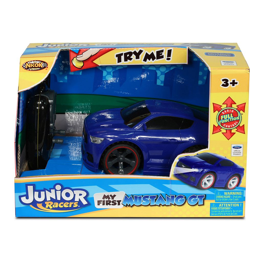 NKOK Junior Racers My First Remote Control Ford Mustang GT Car