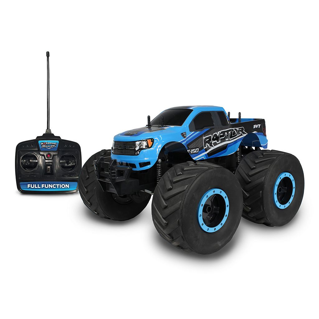 NKOK Mean Machines Extreme Terrain Remote Control Ford F-150 SVT Raptor
