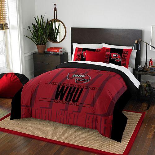 Western Kentucky Hilltoppers Modern Take Full/Queen Comforter Set by Northwest