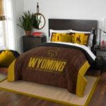 Wyoming Cowboys Modern Take Full/Queen Comforter Set by Northwest