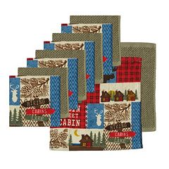The Big One® Lodge Dishcloth 10-pack