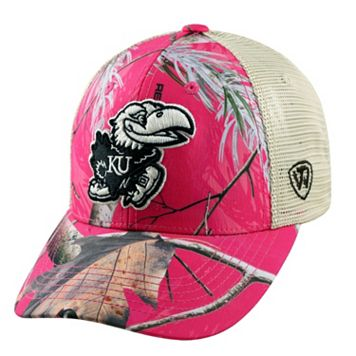 Adult Top of the World Kansas Jayhawks Doe Camo Adjustable Cap