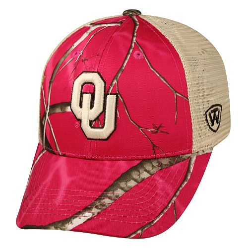Adult Top of the World Oklahoma Sooners Doe Camo Adjustable Cap