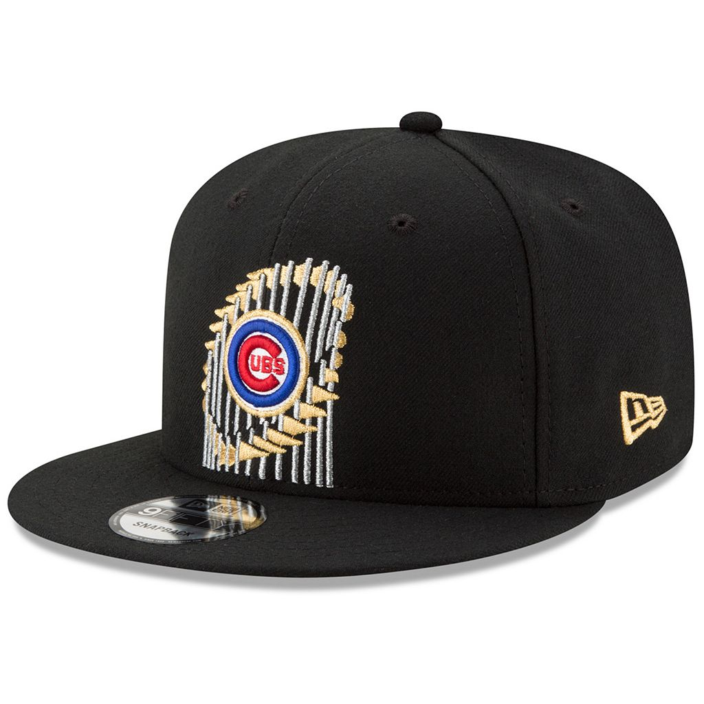 Adult New Era Chicago Cubs 2016 World Series Champions 9FIFTY Snapback Cap