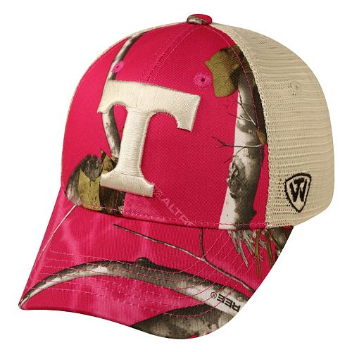 Adult Top of the World Tennessee Volunteers Doe Camo Adjustable Cap