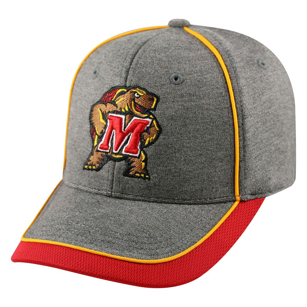 Adult Top of the World Maryland Terrapins Memory Fit Cap