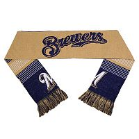 Adult Forever Collectibles Milwaukee Brewers Reversible Scarf