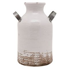 SONOMA Goods for Life™ Farmhouse Milk Can Ceramic Vase