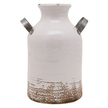SONOMA Goods for Life™ Farmhouse Milk Can Ceramic Vase