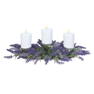 SONOMA Goods for Life™ Farmhouse Artificial Lavender 3-Tier Candle Holder