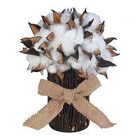 SONOMA Goods for Life™ Farmhouse Faux Cotton Stack Table Decor