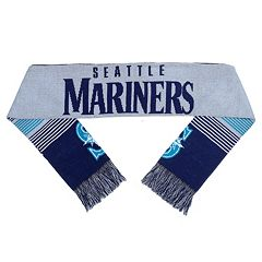 Adult Forever Collectibles Seattle Mariners Reversible Scarf