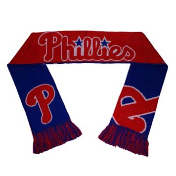 Adult Forever Collectibles Philadelphia Phillies Reversible Scarf