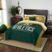 Oakland Athletics Grand Slam Full/Queen Comforter Set by Northwest
