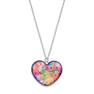 Shopkins Kids' Heart Pendant Necklace