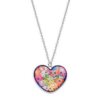 Shopkins Kids' Heart Pendant Necklace