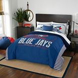 Toronto Blue Jays Grand Slam Full/Queen Comforter Set by Northwest
