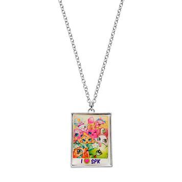 Shopkins Kids' Rectangle Pendant Necklace