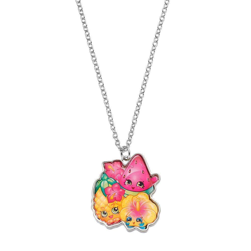 Shopkins Kids' Tropical Collection Pendant Necklace