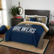 Milwaukee Brewers Grand Slam Full/Queen Comforter Set by Northwest