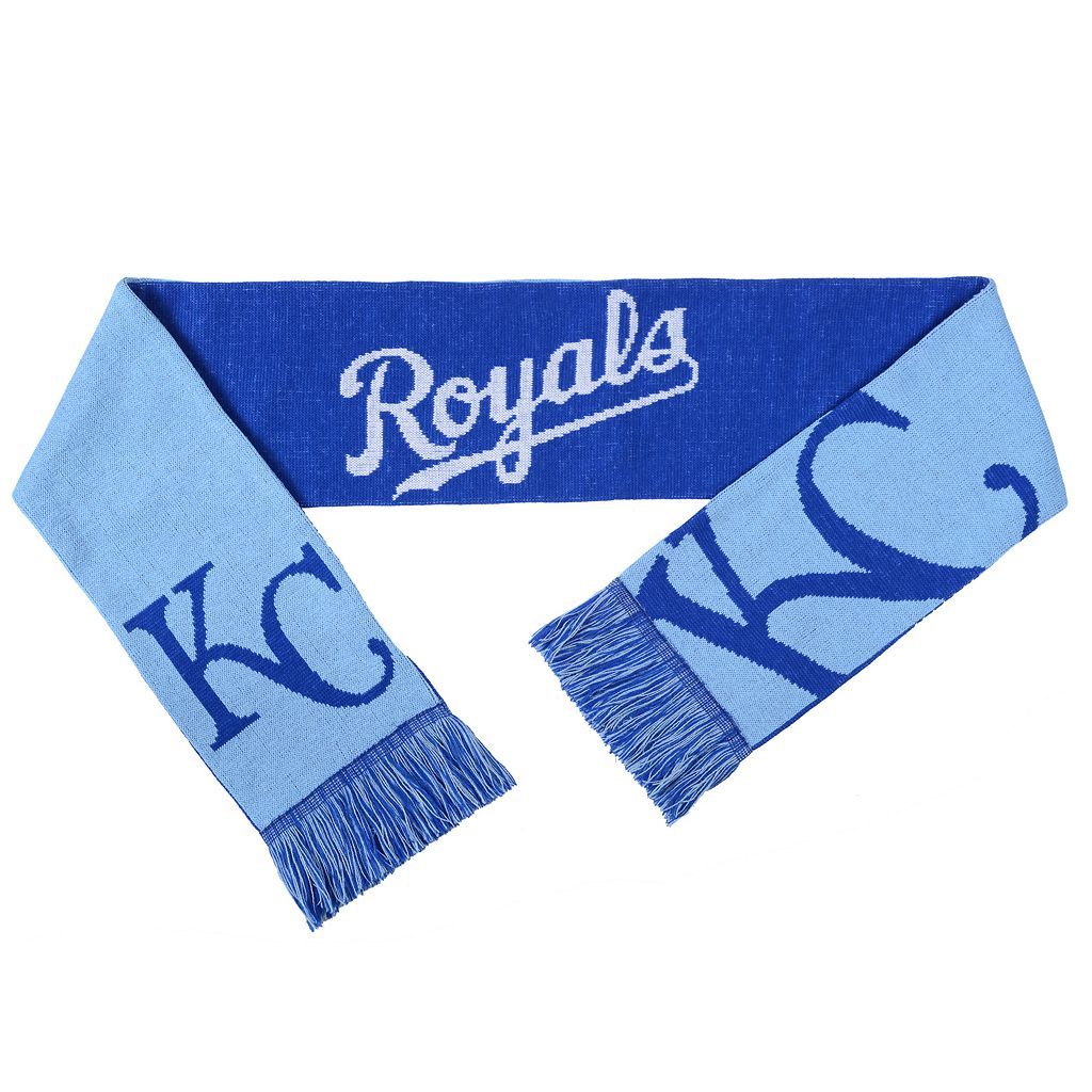 Adult Forever Collectibles Kansas City Royals Reversible Scarf