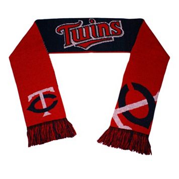 Adult Forever Collectibles Minnesota Twins Reversible Scarf
