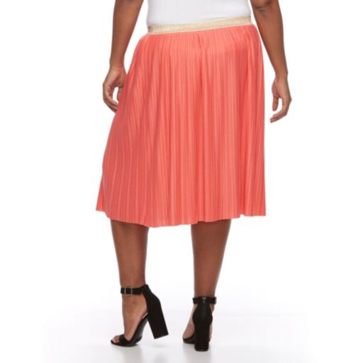 Plus Size Apt. 9® Accordion-Pleat Skirt