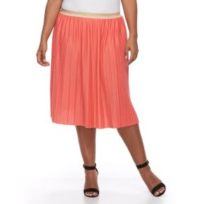 Plus Size Apt. 9® Accordion-Pleat Skirt