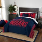 Cleveland Indians Grand Slam Full/Queen Comforter Set by Northwest