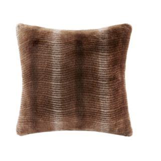 Madison Park Signature Serengeti Luxury Faux Fur Throw Pillow