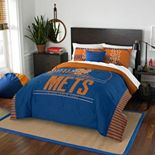 New York Mets Grand Slam Full/Queen Comforter Set by Northwest