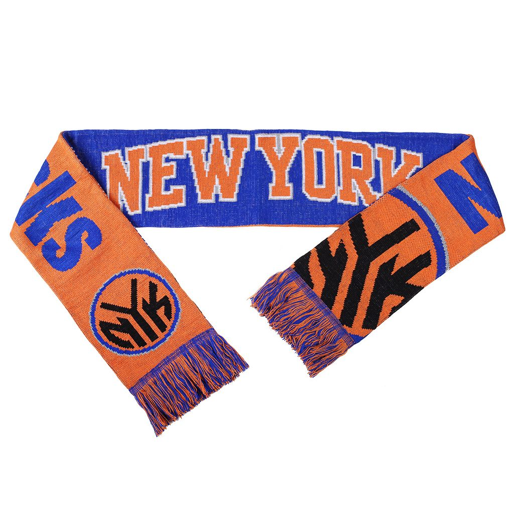 Adult Forever Collectibles New York Knicks Reversible Scarf
