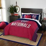 Washington Nationals Grand Slam Full/Queen Comforter Set by The Northwest