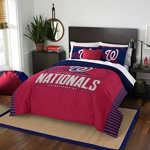 Washington Nationals Grand Slam Full/Queen Comforter Set by Northwest