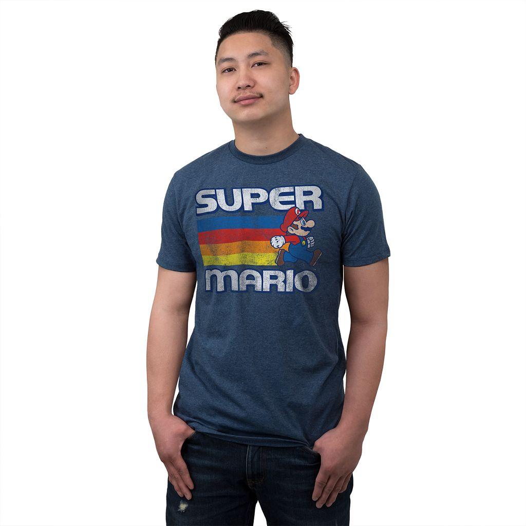 Men's Super Mario Fast Lane Tee