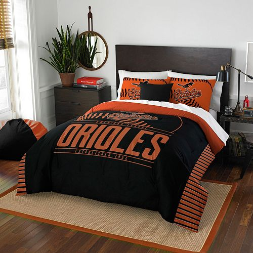 Baltimore Orioles Grand Slam Full/Queen Comforter Set by Northwest