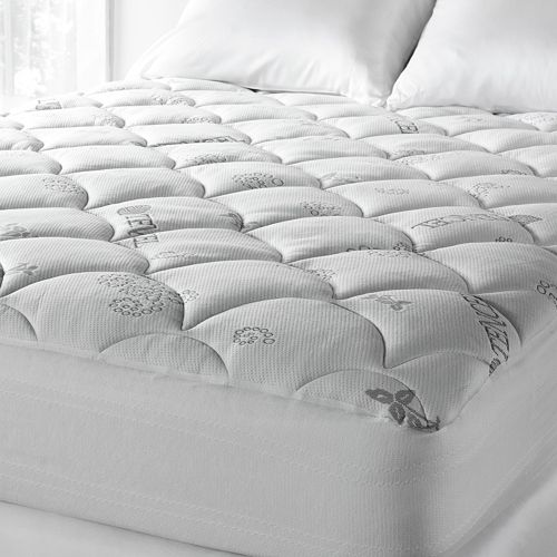 Downlite Lyocell Poly Knit Mattress Pad