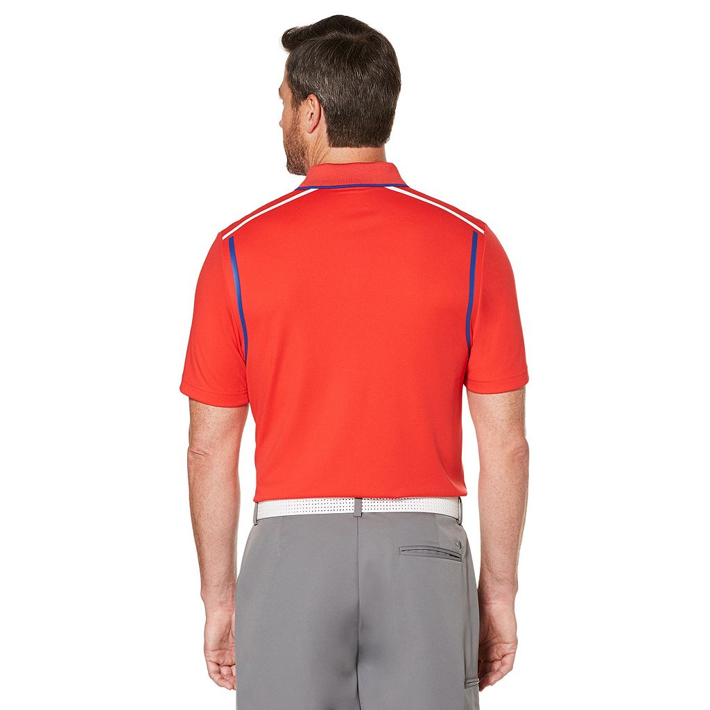 Men's Grand Slam Regular-Fit Stretch Performance Golf Polo